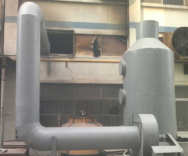 概述节能型钢结构方形逆流式玻璃钢冷却塔